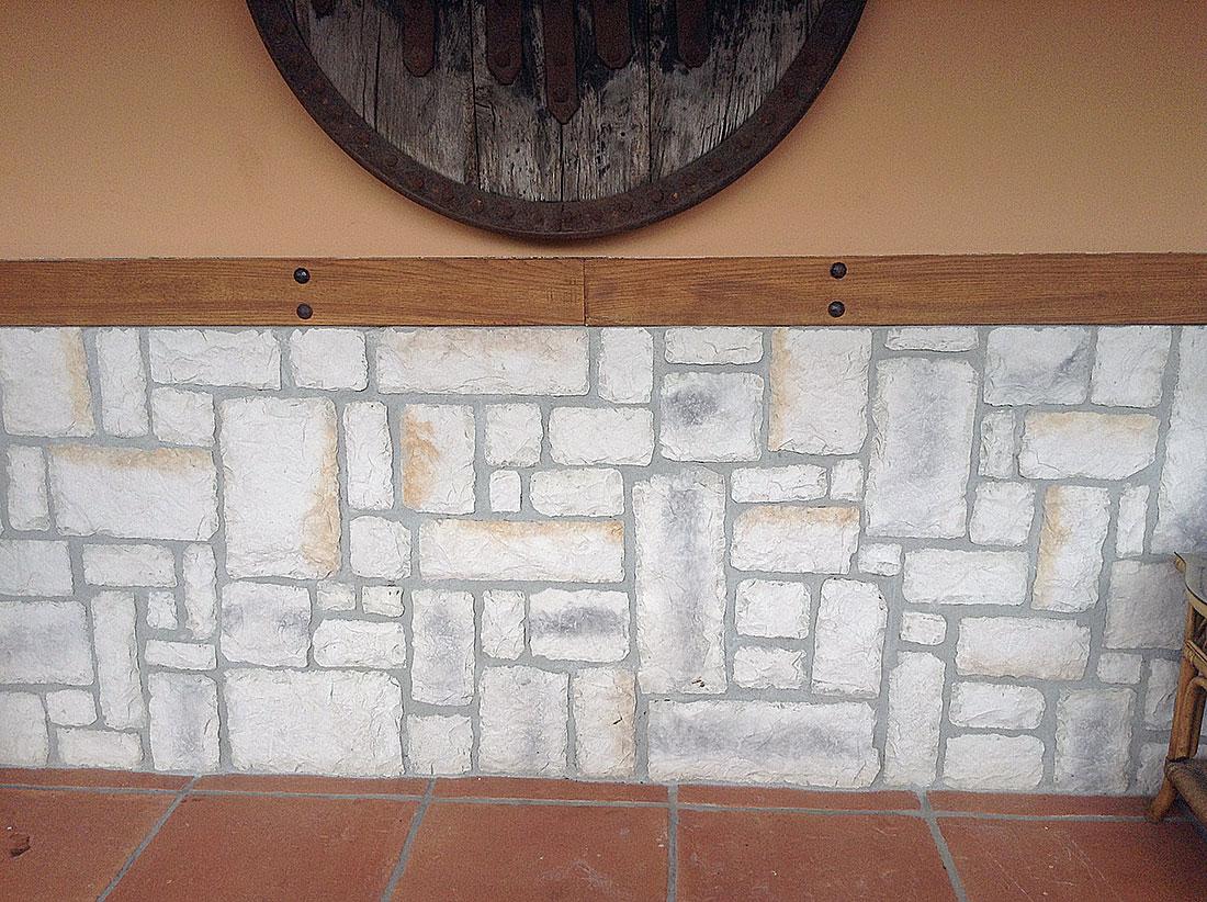 Decoración en piedra