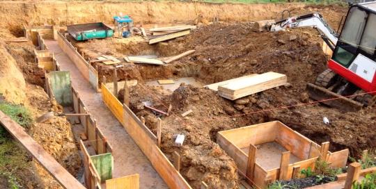 Excavación para chalet